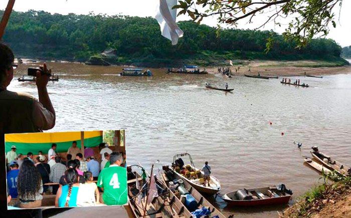 Dos indígenas fueron detenidos, luego de una gresca con militares en el río Isiboro, y no se conoce el paradero de los mismos.