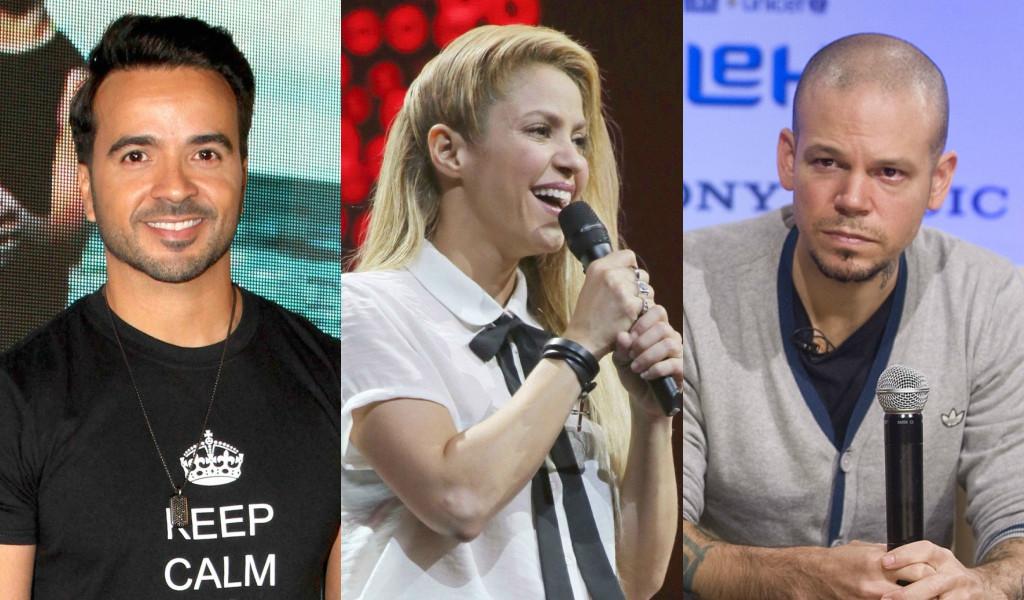 Luis Fonsi, Shakira, Rene Perez