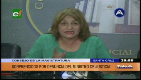 Consejo de la Magistratura rechaza denuncia de corrupción del ministro de Justicia
