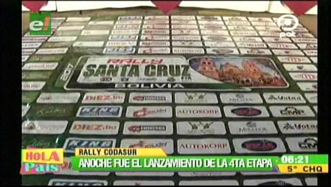 Inicia cuarta etapa del Rally Codasur