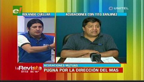 Rolando Cuéllar: Tito Sanjinés tiene que demostrar que recibimos dinero de Romér Gutiérrez