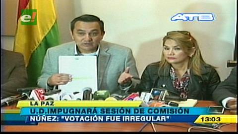 Oposición impugnará sesión que aprobó la ley que levanta intangibilidad del TIPNIS
