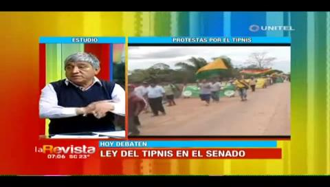Iván Arias considera que el TIPNIS no es problema de los indígenas sino del país