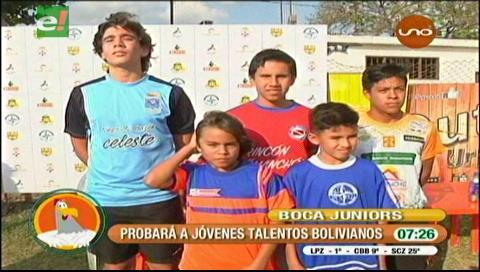 Boca Juniors probará a jóvenes talentos bolivianos