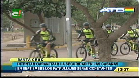 Intensifican patrullaje policial en Las Cabañas del río Piraí