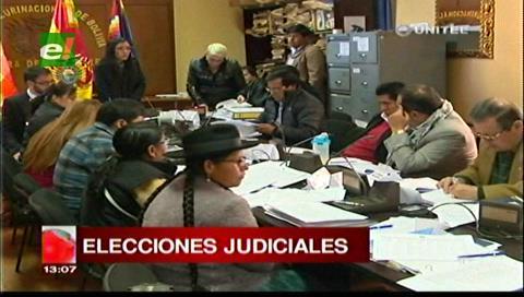 El 20 de agosto se publicará los resultados del examen de los candidatos judiciales