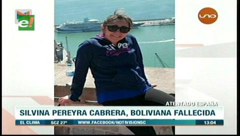Silvana es la argentino-boliviana víctima del atentado terrorista en Barcelona