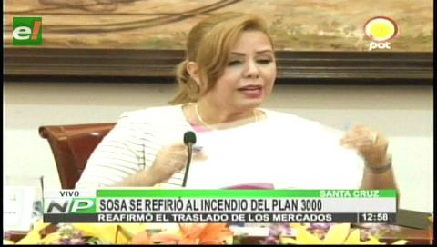 """Santa Cruz: Concejal Sosa reiteró que el traslado de los mercados es """"indiscutible"""