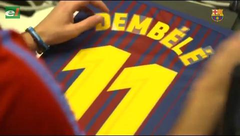 "Dembélé usará la ""11"" que dejó Neymar en Barcelona"