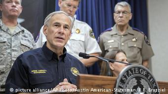 USA Hurrikan Harvey PK Greg Abbott (picture alliance/AP Photo/Austin American-Statesman/R.B. Brazziel)
