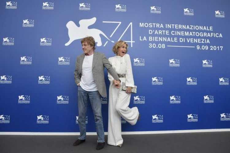 Jane Fonda y Robert Redford (AFP)