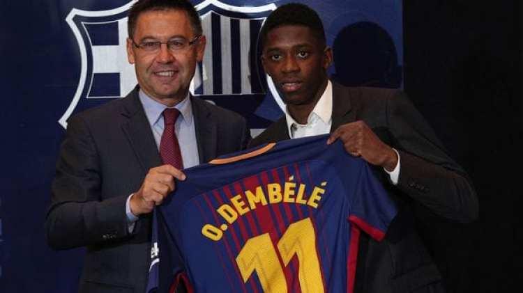Dembélé fue fichado en 105 millones de euros por el Barcelona FC (Reuters)