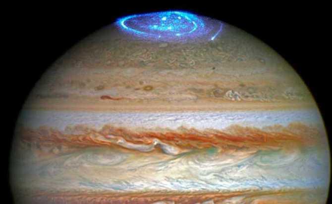 Las auroras de Júpiter presentan un origen inesperado, según la NASA
