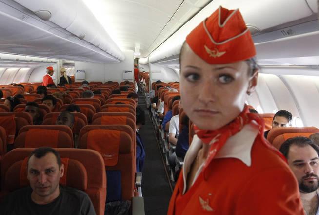 Vuelo Moscú-Habana operado por Aeroflot. (Reuters)