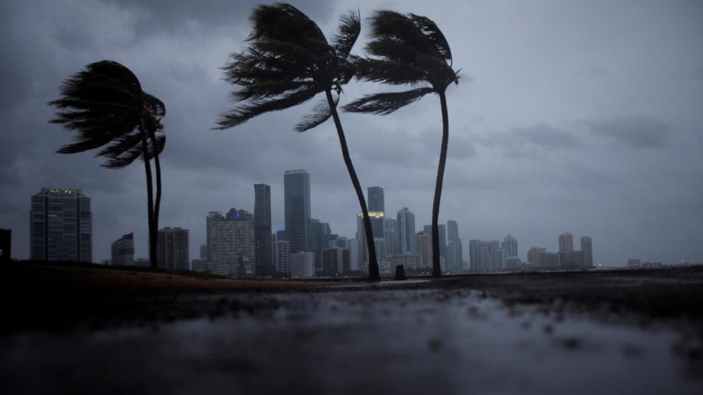 La llegada del huracán Irma a Florida, en directo