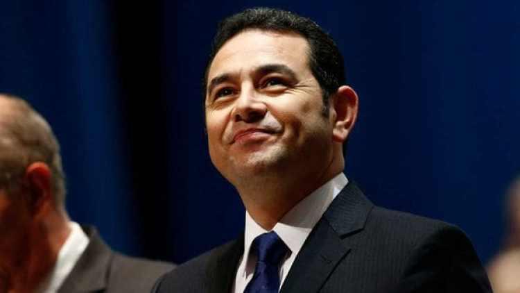 Jimmy Morales, presidente de Guatemala (AP)