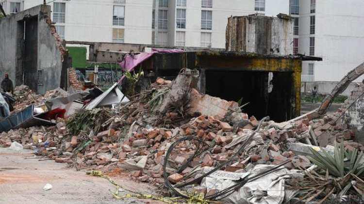 El terremoto del 7 de septiembre tuvo una magnitud de 8,2 grados. (Foto: AFP)