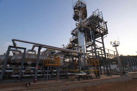 Planta de gas de Incasi, en el municipio de Lagunillas de Santa Cruz.