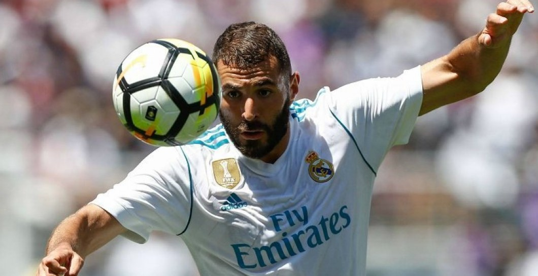 Image result for benezema real madrid 2017 agosto