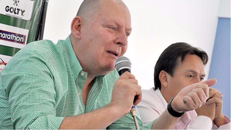 Resultado de imagen de Carlos Ribera, presidente interino de la Federacipon Boliviana de Fútbol (FBF)