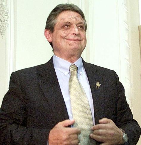 El expresidente de Bolivia Jaime Paz Zamora.