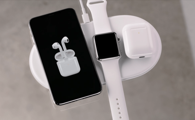 La carga inalámbrica no podía entenderse sin Apple