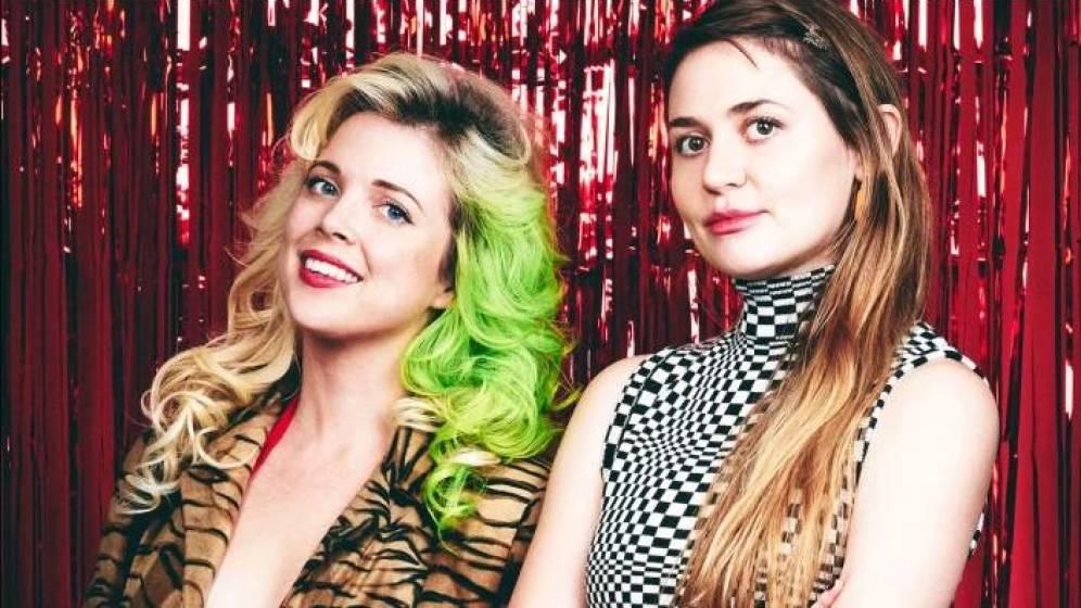 Foto: Kate Dwyer (izquierda) y Penelope Gazin (derecha). (Witchsy)