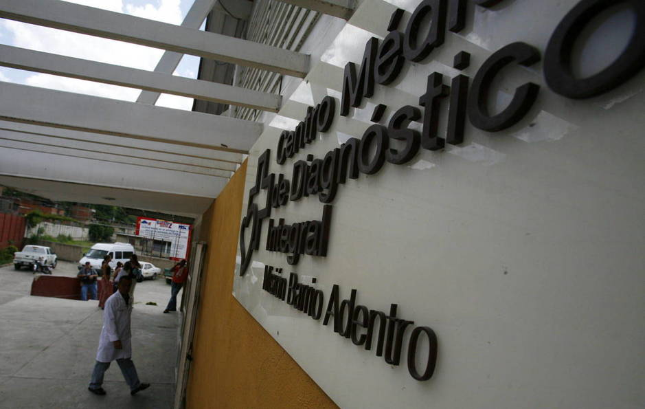 Centro Médico de Diagnóstico Integral en Caracas, Venezuela (EFE)