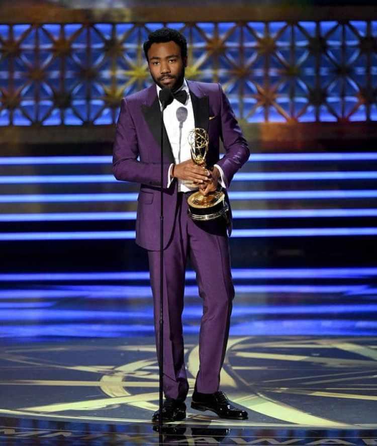 Donald Glover, ganador del Emmy al mejor actor de comedia por Atlanta (Getty Images)
