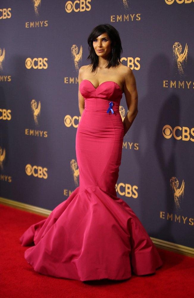 69th Primetime Emmy Awards – Arrivals – Los Angeles, California, U.S., 17/09/2017 - Actress Padma Lakshmi. REUTERS/Mike Blake