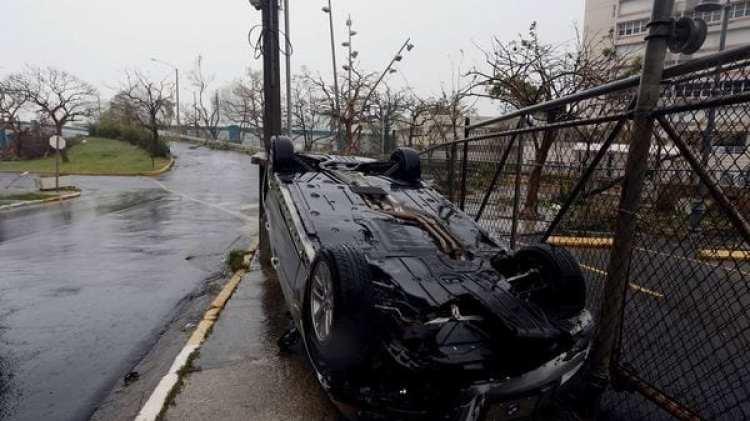 """Daños """"severos"""" en Puerto Rico (EFE)"""