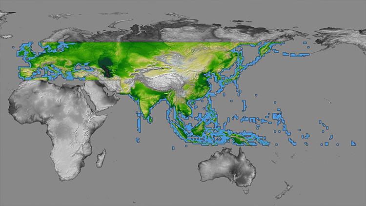 Científicos anuncian que Eurasia se partirá en dos
