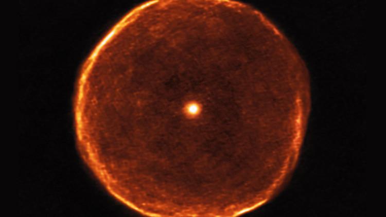 VIDEO: Captan imágenes de una gigantesca burbuja en el espacio