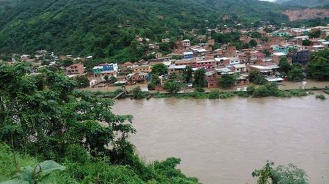 Vista panorámica de la localidad de Guanay.