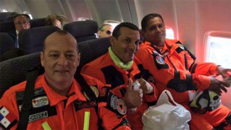 Rescatistas de Panamá viajaron a México