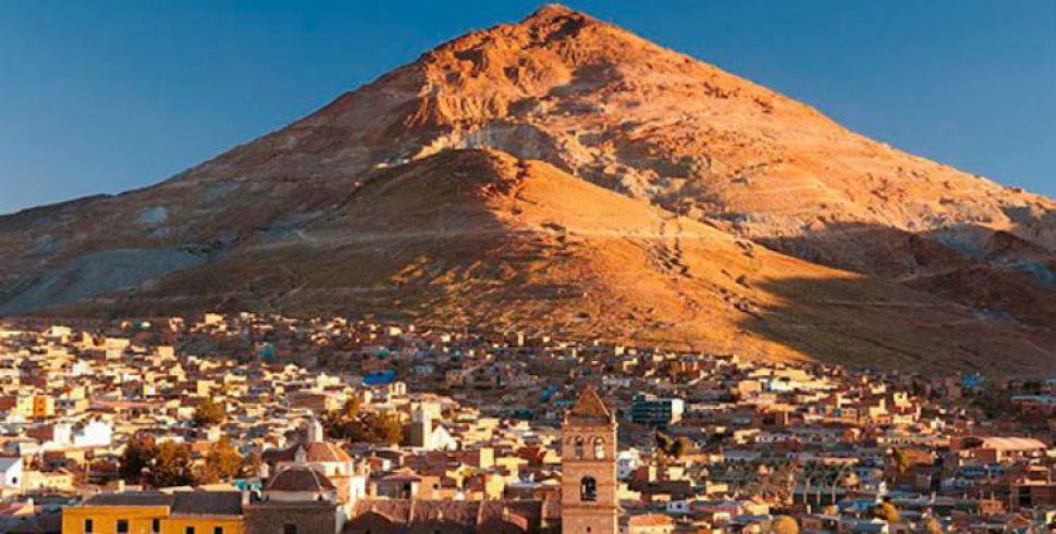 Resultado de imagen de Cerro Rico de Potosí