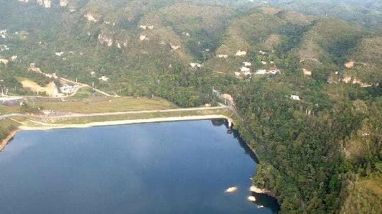 El lago Guajataca (Imagen de archivo)