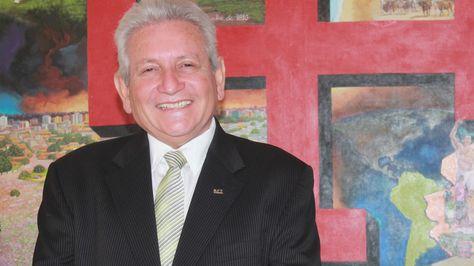 El gobernador de Santa Cruz, Rubén Costas.