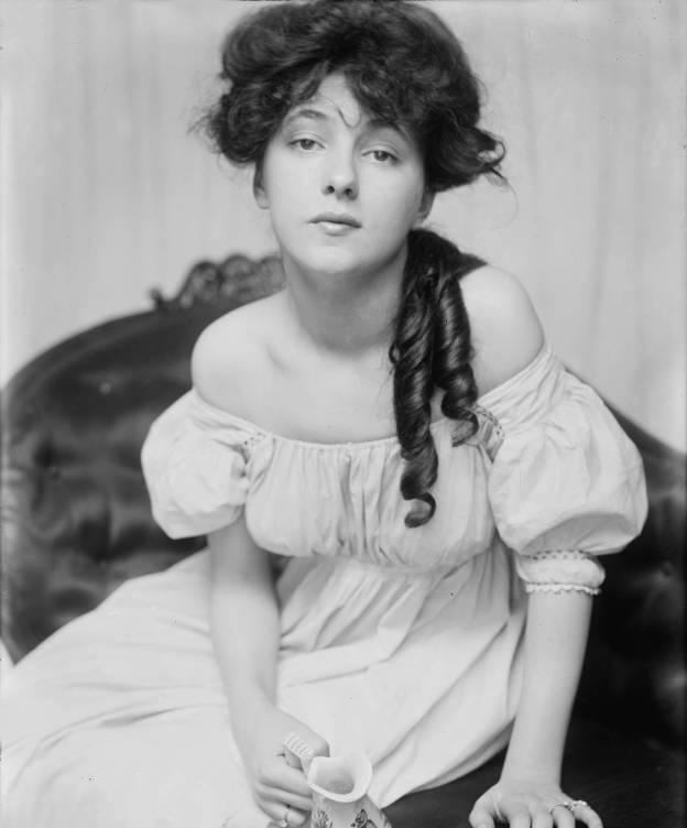 Foto: Evelyn Nesbit, fotografiada por Gertrude Kasebier en 1900 a petición de Stanford White. (Cordon Press)