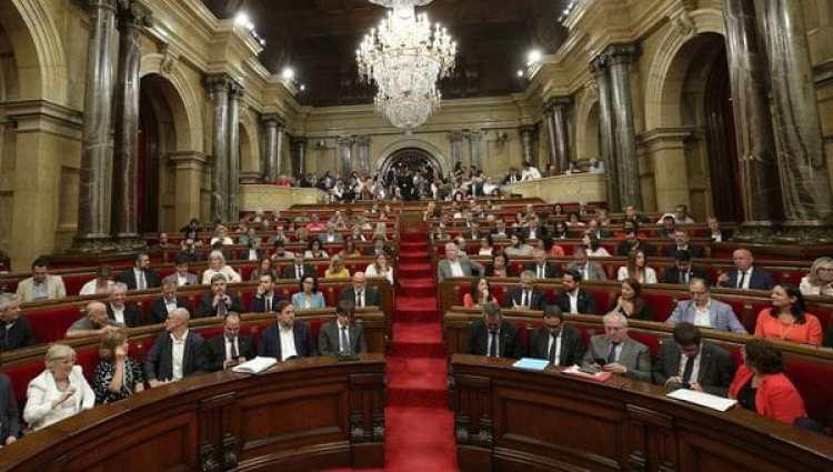 El Parlamento catalán (REUTERS/Albert Gea)