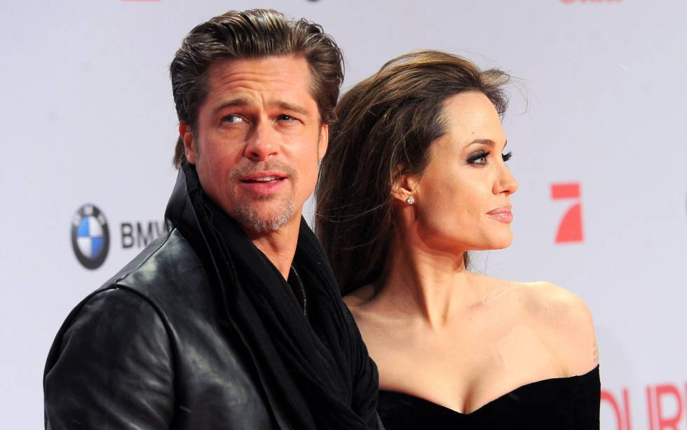 Brad Pitt y Angelina Jolie, en 2010.