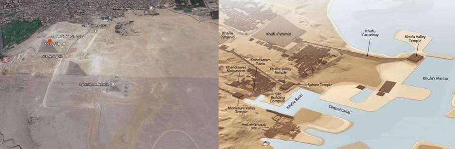 El complejo ahora y antes. (Google Earth / Aeragram)