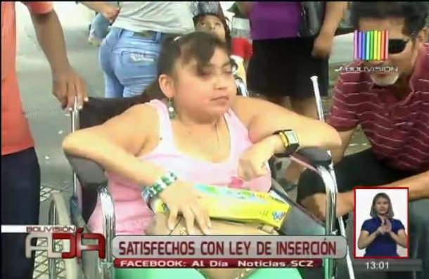 Discapacitados valoraron promulgación de ley de inserción laboral