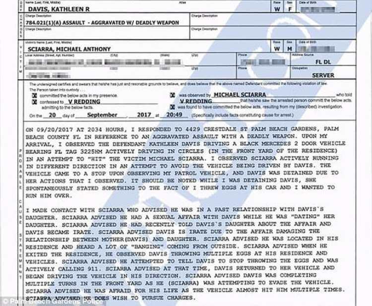 El documento policial en el que se da cuenta del grotesco hecho