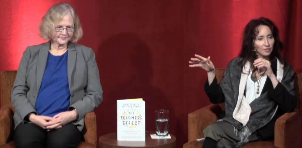 Foto: Las autoras presentando su libro. (Youtube)