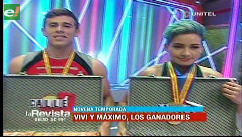 Vivi y Máximo los campeones de la batalla final de Calle 7