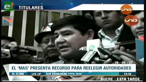 Video titulares de noticias de TV – Bolivia, mediodía del martes 19 de septiembre de 2017