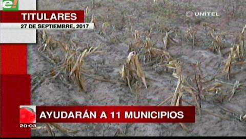 Video titulares de noticias de TV – Bolivia, noche del miércoles 27 de septiembre de 2017