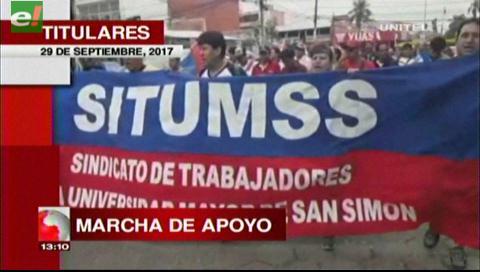 Video titulares de noticias de TV – Bolivia, mediodía del viernes 29 de septiembre de 2017