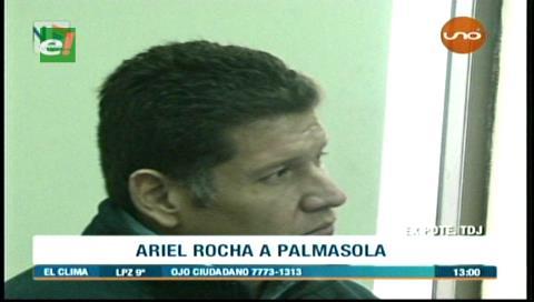 Exmagistrado Ariel Rocha es enviado a Palmasola con detención preventiva
